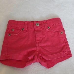 Baby girl Levi's shorts Size 6-9mo